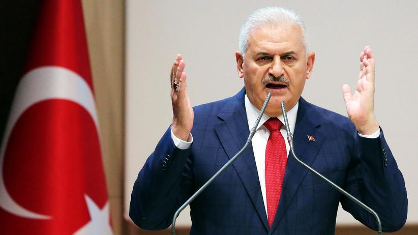 AKP: Der türkische Regierungschef und AKP-Vorsitzende Binali Yıldırım