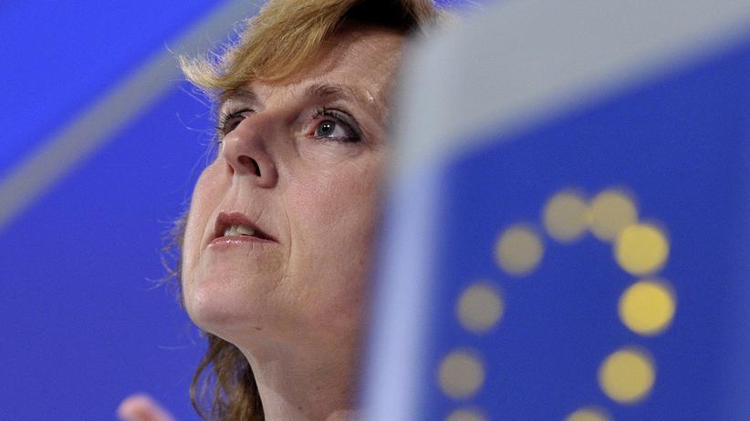 EU-Kommission: Die frühere EU-Kommissarin Connie Hedegaard in Brüssel (Archivbild)