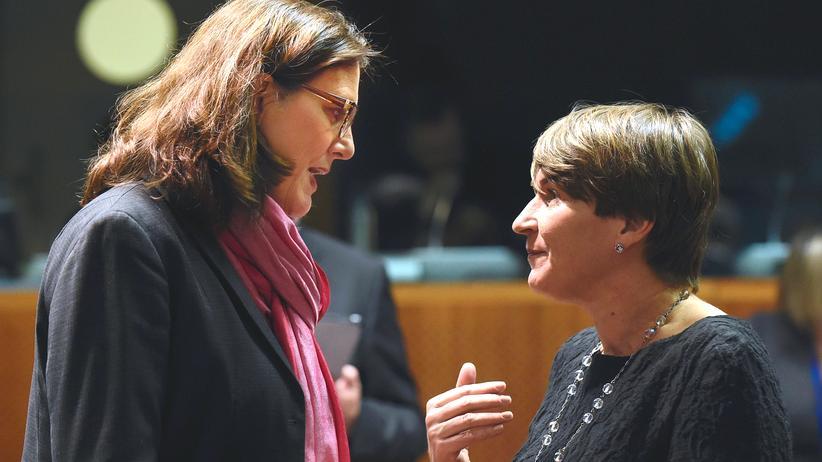 Freihandelsabkommen: EU rechnet mit Pause der TTIP-Gespräche
