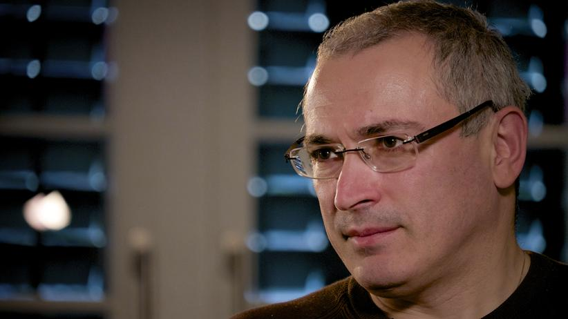"""Michail Chodorkowski: """"Ich würde nicht schwören, niemals Politiker zu werden"""""""