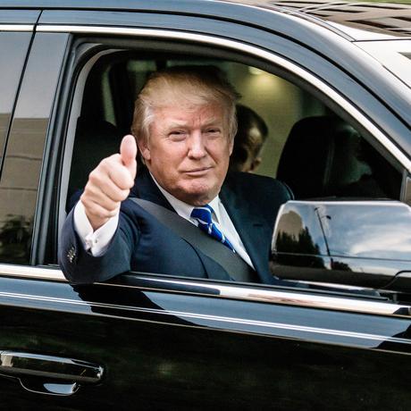 US-Wahl: Donald Trump, US-Präsident