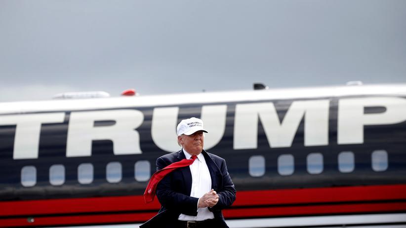 Donald Trump: Donald Trump bei einem Wahlkampfauftritt im Oktober