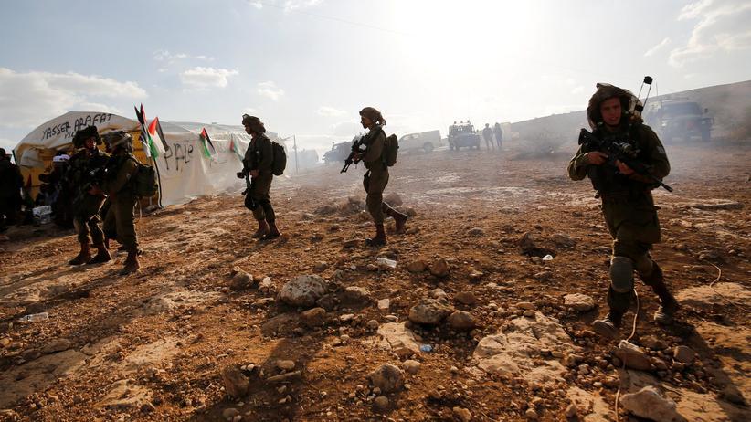 Gaza: Israelische Soldaten als Verteidiger jüdischer Siedlungen
