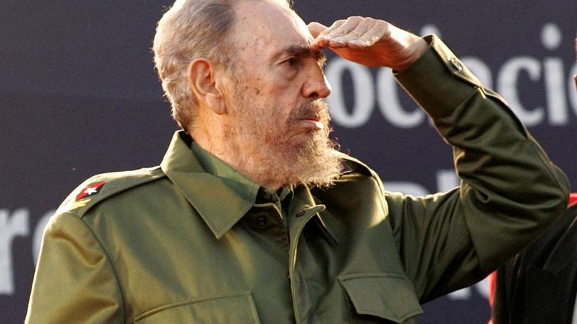 Fidel Castro: Fidel Castro in Cordoba, Argentinien, im Juli 2006
