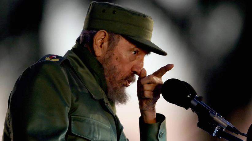 Fidel Castro in Havanna im Jahr 2006