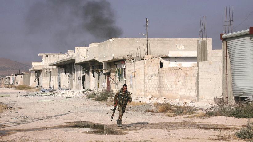 Giftgasangriff Terrormiliz Islamischer Staat Nordsyrien