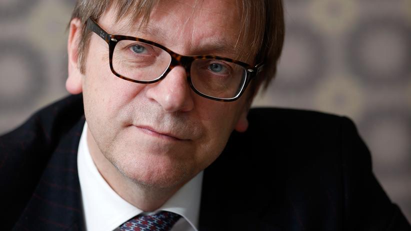 EU-Parlamentspräsident: Verhofstadt will Schulz nachfolgen