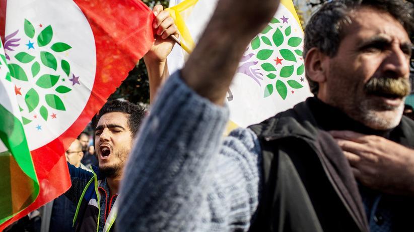 Selahattin Demirtaş und Figen Yüksekdağ: Kurden in der Türkei sehen die Verhaftungen als Einschüchterungsversuche.