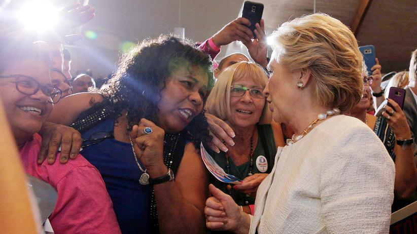 #AmericanShortStories: Hillary Clinton bei einem Wahlkampftermin in Florida