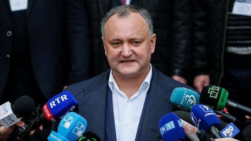 Igor Dodon: Prorussischer Kandidat gewinnt Präsidentenwahl in Moldau