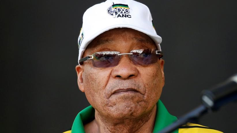 Südafrikas Präsident Jacob Zuma muss sich einem Misstrauensvotum stellen.