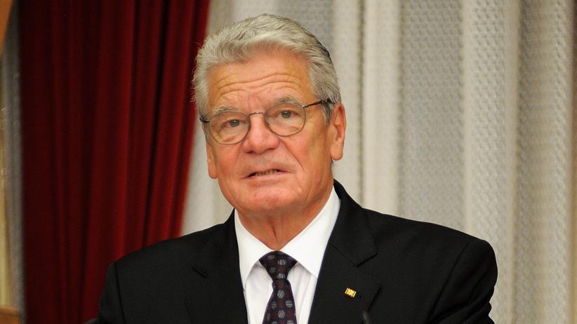 Internationale Beziehungen: Bundespräsident Joachim Gauck