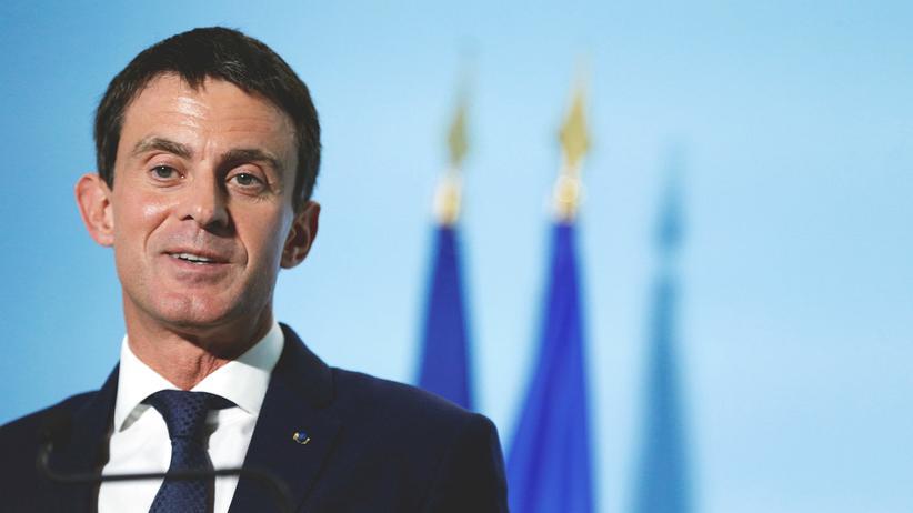 Frankreich: Frankreichs Premierminister Manuel Valls