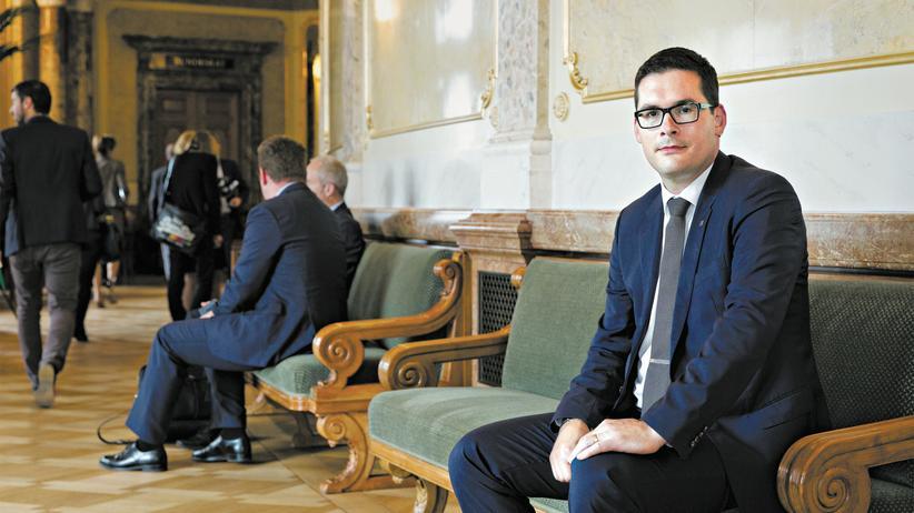 """Nationalrat: David Zuberbühler im Bundeshaus: """"Es wird dauern, bis ich den Durchblick habe."""""""