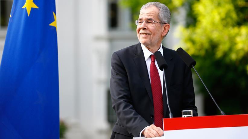 Bundespräsidentenwahl in Österreich: Alexander Van der Bellen nach der ersten Stichwahl im Mai
