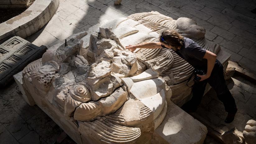 Palmyra: Die Löwenskulptur aus Palmyra