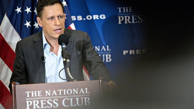 Peter Thiel: Silicon-Valley-Milliardär Peter Thiel bei einem Auftritt in Washington