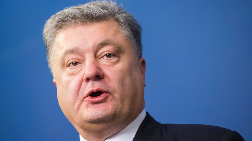 Petro Poroschenko Ukraine Donald Trump