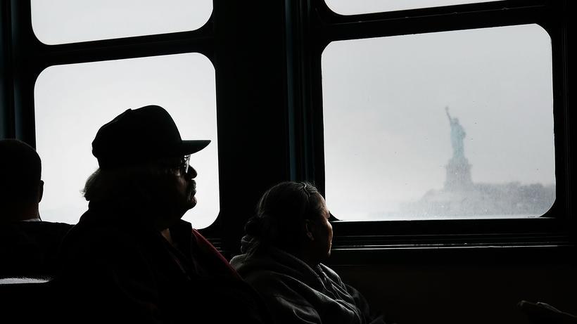 Präsidentenwahl in den USA: New York City am Tag nach der Präsidentenwahl