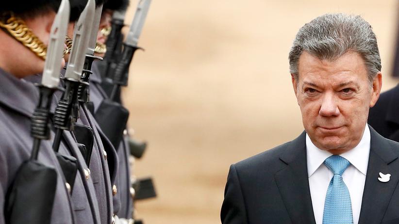 Kolumbien: Kolumbiens Präsident Juan Manuel Santos