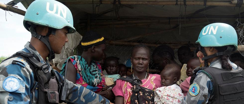 suedsudan, un, blauhelmtruppen