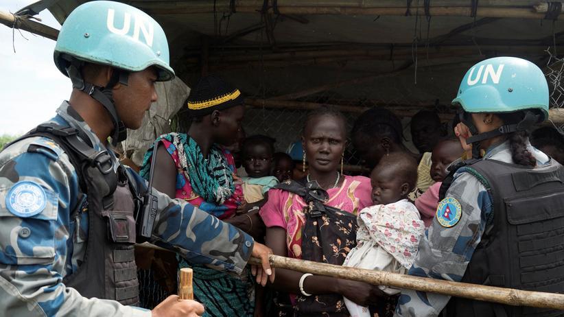Südsudan: UN bescheinigen Blauhelmtruppe Versagen
