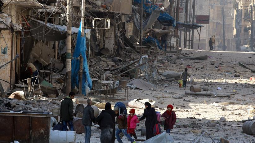 Syrien Aleppo UN-Sicherheitsrat Dringlichkeitssitzung
