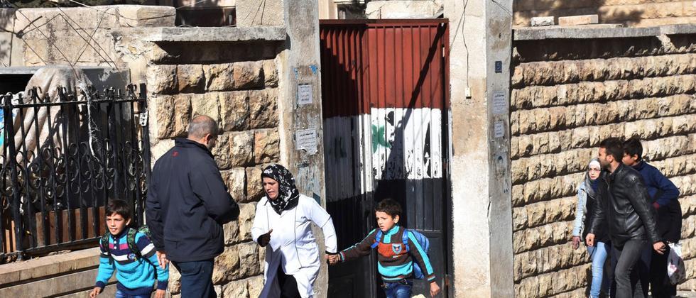 syrien, berlagerung, zustand