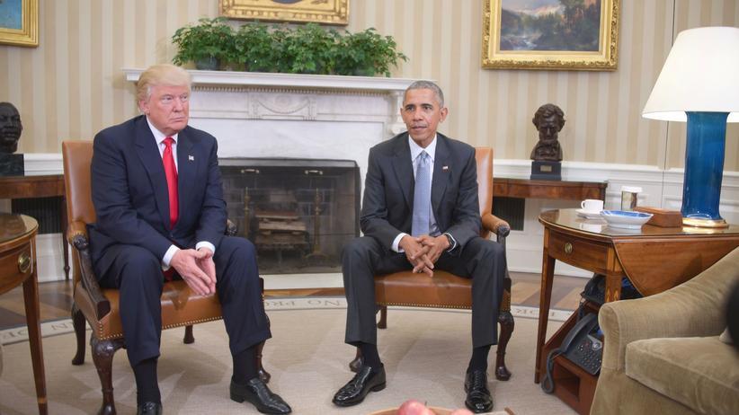 """Treffen im Weißen Haus: """"Wir haben uns ja noch nie persönlich unterhalten"""""""