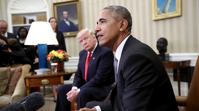 Barack Obama muss Trump beraten