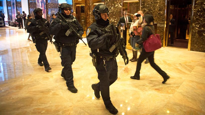 Trump Tower, New York, Tourismus, Sicherheit