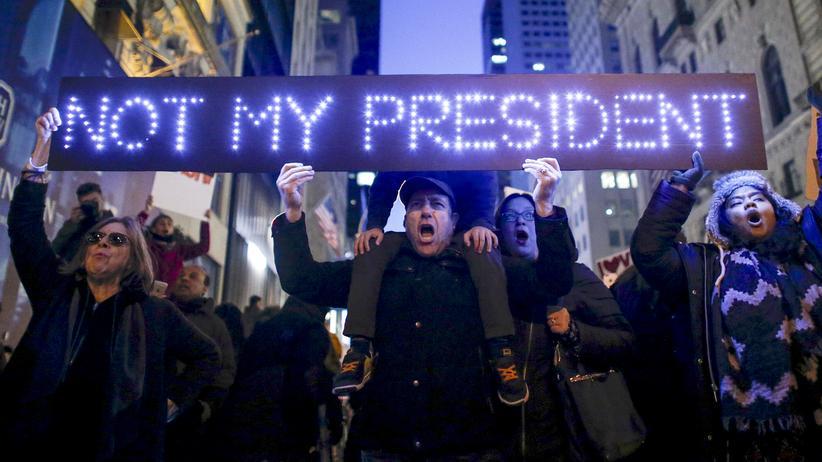 Trump Zukunft Dystopie