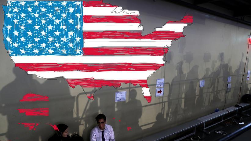 US-Wahl: Kurz von einem Townhallmeeting mit Hillary Clinton im US-Bundesstaat Pennsylvania