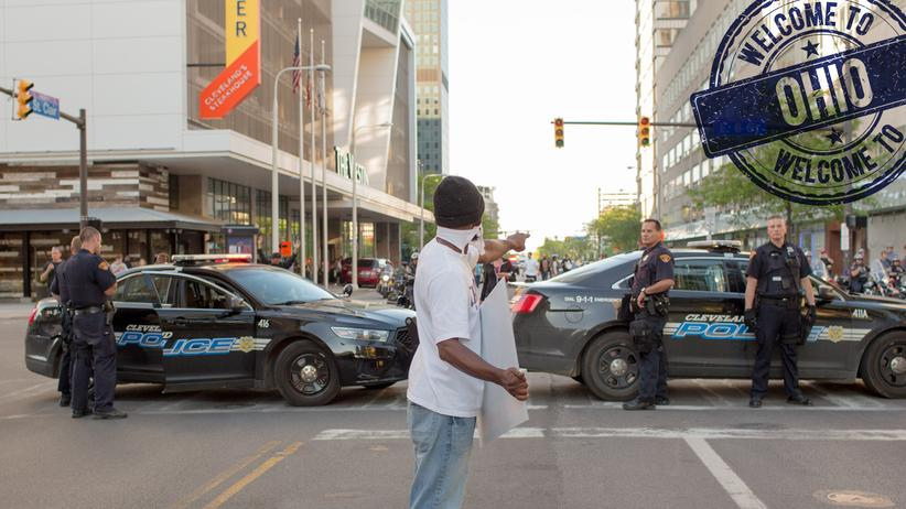 Black Lives Matter Cleveland: Und dann noch Donald Trump
