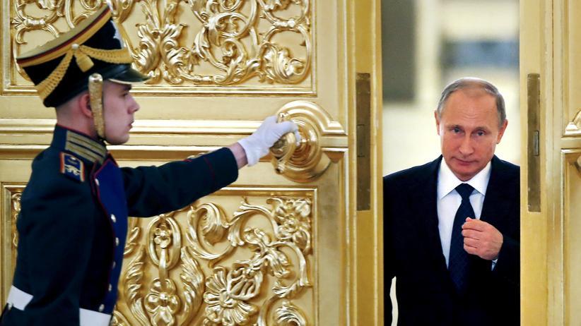 Europäische Union: Russlands Präsident Wladimir Putin weist die Propaganda-Vorwürfe zurück.