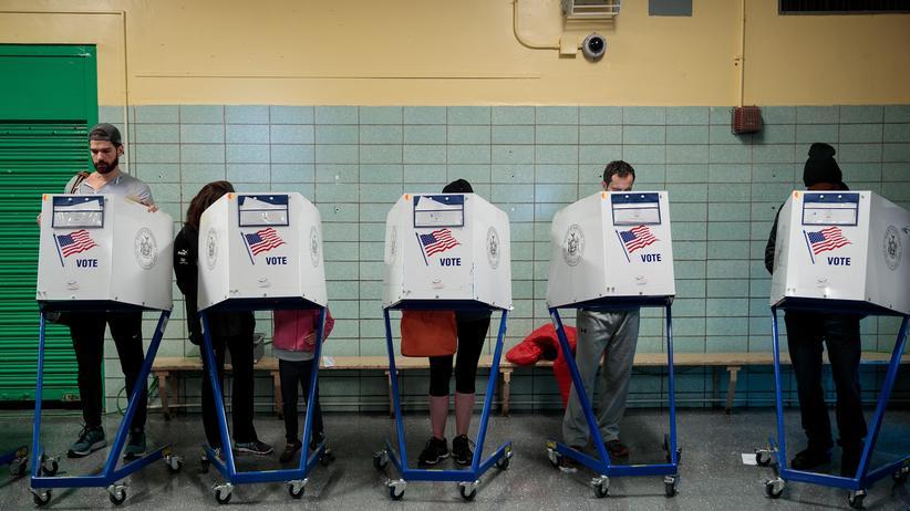 US-Wahl: Die US-Amerikaner wählen einen neuen Präsidenten.