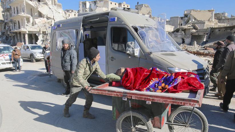 Syrien : Türkei fordert weitere Evakuierungen aus Aleppo
