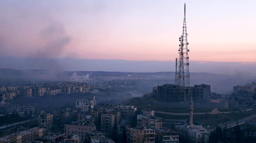 Syrien-Krieg: Aleppo am 8. Dezember 2016