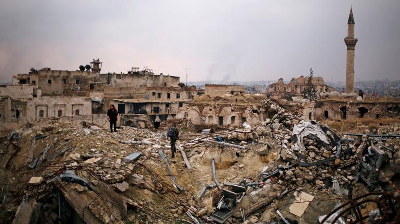 Syrien: Armee feiert vollständige Eroberung Aleppos