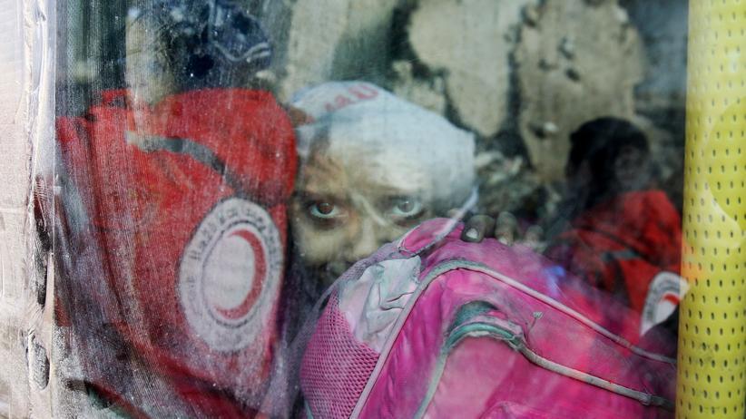 Syrien Aleppo UN