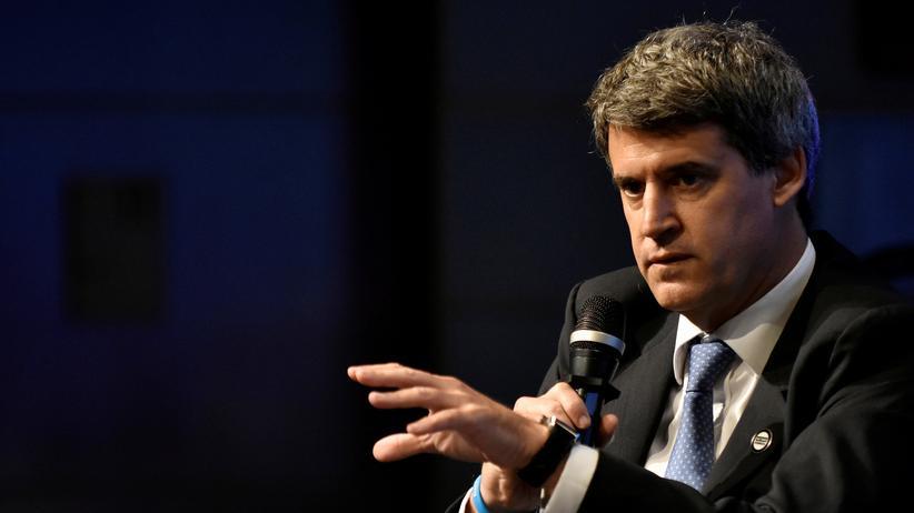 Argentinien: Argentiniens Finanzminister Alfonso Prat-Gay entlassen