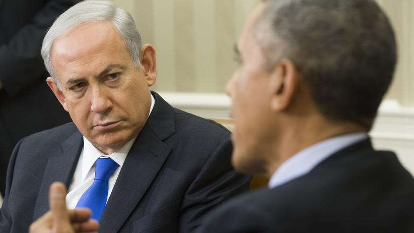 Benjamin Netanjahu Barack Obama