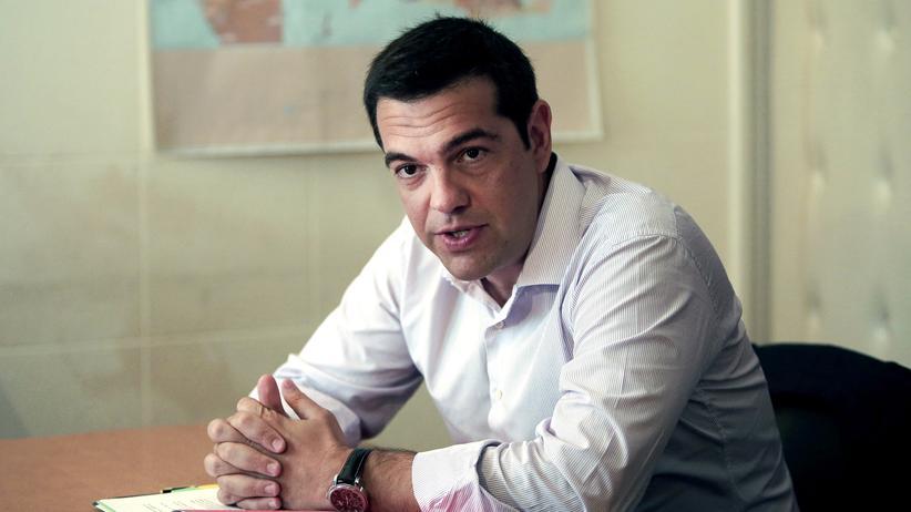 Berlin: Der griechische Ministerpräsident Alexis Tsipras