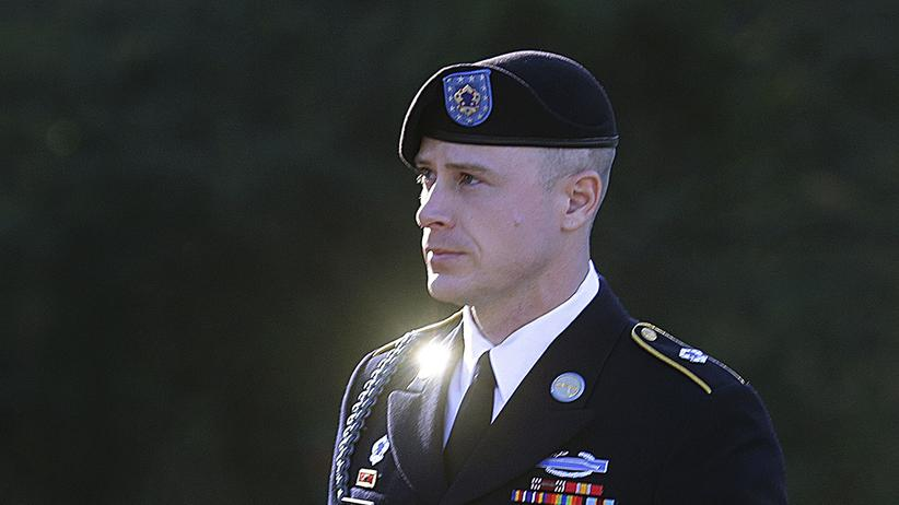 Bowe Bergdahl: US-Soldat Bowe Bergdahl bei der Ankunft zu einer Anhörung in Fort Bragg Anfang 2016