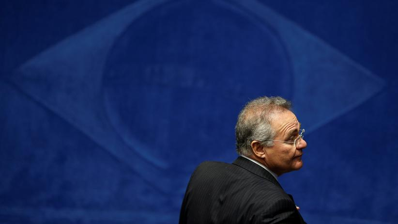 Brasilien: Renan Calheiros in Brasilia