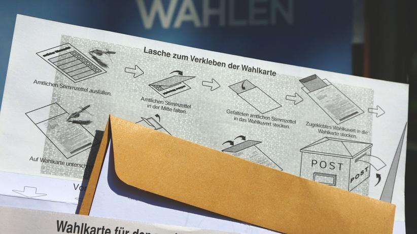 Briefwahl Österreich Wahlkarte