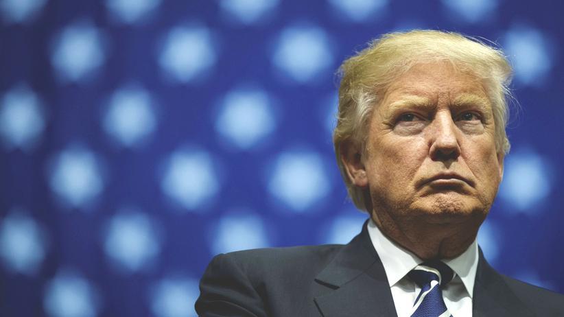US-Wahl: Donald Trump bei einem Auftritt in Michigan
