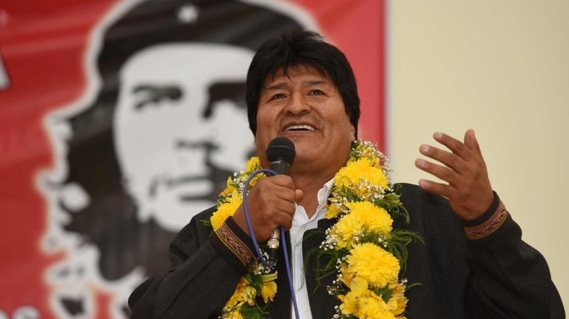 Obwohl die Verfassung eine weitere Amtszeit verbietet will Evo Morales 2019 wieder antreten.