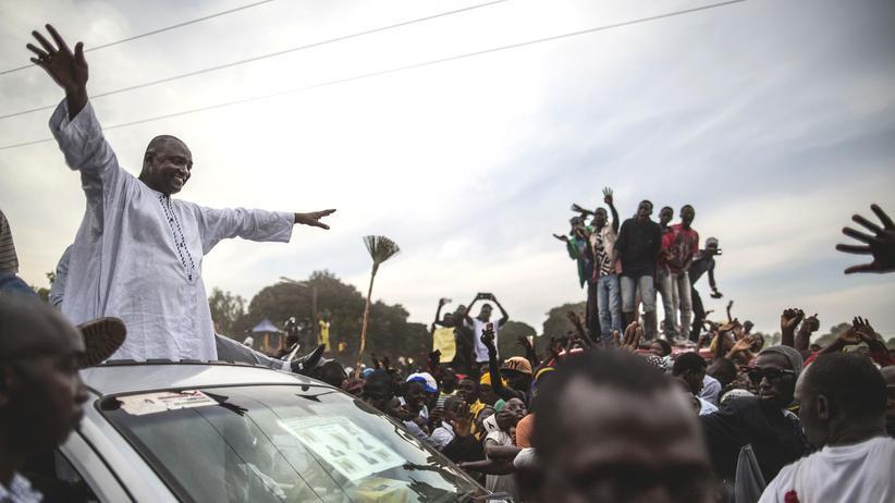 Gambia Wahl Adama Barrow