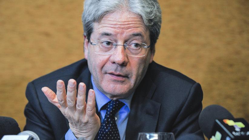 Italien : Gentiloni soll neuer Regierungschef werden